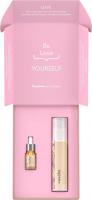 Resibo - Beauty Box - Younger Skin - Zestaw kosmetyków do pielęgnacji twarzy - Serum naturalnie wygładzające 5 ml + Krem odżywczy 50 ml