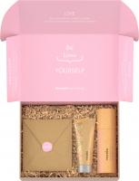 Resibo - Beauty Box - Zestaw kosmetyków do pielęgnacji twarzy - Naturalny żel myjący 125 ml + Lekki krem nawilżający 50 ml + Opaska do włosów