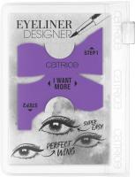 Catrice - EYELINER DESIGNER  - Silikonowy szablon do eyelinera - 010 I`m Your WINGman