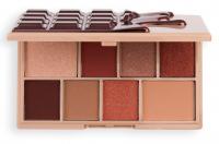 I Heart Revolution - Hazelnut Cream - Mini Shadow Palette - Palette of 8 eye shadows