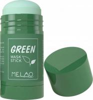 MELAO - GREEN MASK STICK - Oczyszczająca maska do twarzy w sztyfcie