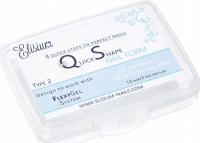 Elisium - Mini Quick Shape Nail Form - Formy do przedłużania paznokci - 24 sztuki - TYP 2