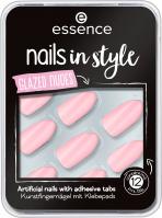 Essence - Nails in Style - Glazed Nudes - Samoprzylepne tipsy - 08 Get Your Nudes On - 12 szt.