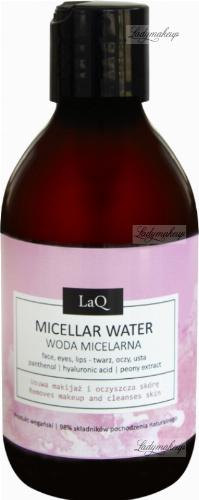 LaQ - Micellar Water - Woda micelarna - Kocica Piwonia - 300 ml