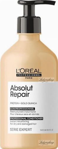 L'Oréal Professionnel - SERIE EXPERT - ABSOLUT REPAIR - CONDITIONER - Conditioner for damaged hair - 500 ml