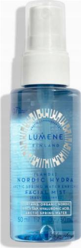 LUMENE - LAHDE - ARCTIC SPRING WATER ENRICHED - Nawadniająca mgiełka do twarzy - 50 ml