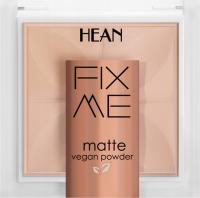 HEAN - FIX ME - Matte Vegan Powder - Matujący, wegański puder do twarzy - 8g