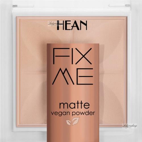 HEAN - FIX ME - Matte Vegan Powder - Mattifying, vegan face powder - 8g
