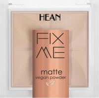 HEAN - FIX ME - Matte Vegan Powder - Mattifying, vegan face powder - 8g - 62 BEIGE - 62 BEIGE