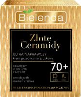 Bielenda - Złote Ceramidy - Ultra repairing anti-wrinkle cream for day and night - 70+ - 50 ml