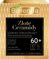 Bielenda - Złote Ceramidy - Głęboko odbudowujący krem przeciwzmarszczkowy na dzień i noc - 60+ - 50 ml