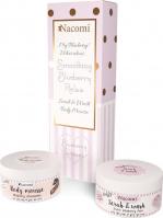 Nacomi - Smoothing Blueberry Relax - Zestaw kosmetyków do mycia i pielęgnacji ciała - Mus do ciała 100 ml + Pianka peelingująca 100 ml - Borówkowy Sen