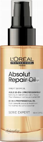 L'Oréal Professionnel - SERIE EXPERT - ABSOLUT REPAIR OIL - 10-IN-1 PROFESSIONAL OIL - Olejek ochronny do włosów normalnych i zniszczonych - 90 ml