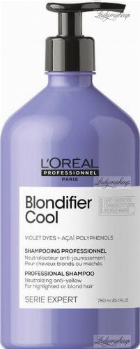L'Oréal Professionnel - SERIE EXPERT - BLONDIFIER COOL - PROFESSIONAL SHAMPOO - Neutralizujący szampon dla chłodnych odcieni blond - 750 ml