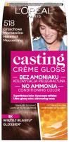 L'Oréal - Casting Créme Gloss - Pielęgnacyjna koloryzacja bez amoniaku - 518 ORZECHOWE MOCHACCINO