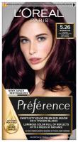 L'Oréal - Récital Préférence - Trwała, luksusowa koloryzacja - 5.26 SOFT BORDEAUX