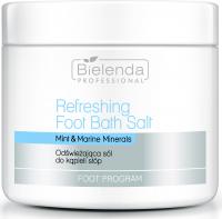 Bielenda Professional - Refreshing Foot Bath Salt - Mint & Marine Minerals - Refreshing Foot Bath Salt - 500 g