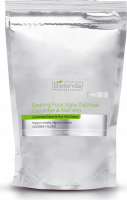 Bielenda Professional - Soothing Face Algae Gel Mask Cucumber & Aloe Vera - Soothing algae-gel mask - Cucumber and aloe - Refill - 190 g