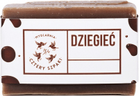 Mydlarnia Cztery Szpaki - Natural soap with the addition of birch tar - For skin problems - 110 g