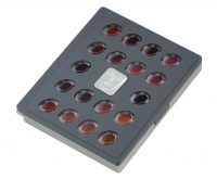 KRYOLAN - LIP ROUGE MINI-PALETTE - Paleta pomadek do ust - ART. 9026