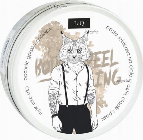 LaQ - Body Wash and Scrub - Naturalny peeling myjący dla mężczyzn - Ryszard z Bieszczad - 200 ml