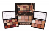 MAKEUP REVOLUTION - RELOADED GOLDEN SUGAR EYE & FACE PALETTE DUO - Make-up gift set