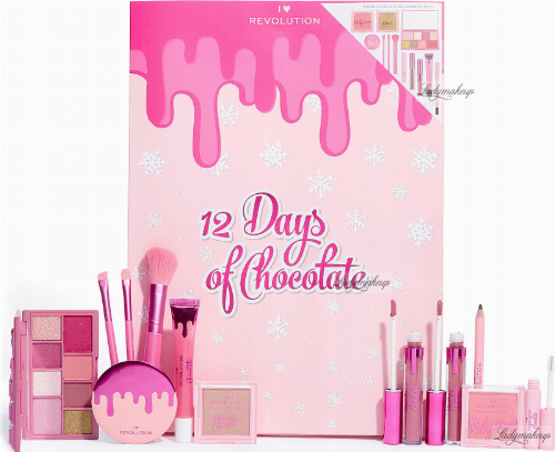 I Heart Revolution - 12 Days of Chocolate Advent Calendar - Advent calendar with cosmetics