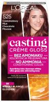 L'Oréal - Casting Créme Gloss - Pielęgnacyjna koloryzacja bez amoniaku - 525 Czekoladowy Mus
