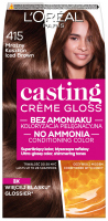 L'Oréal - Casting Créme Gloss - Pielęgnacyjna koloryzacja bez amoniaku - 415 Mroźny Kasztan