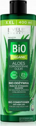 Eveline Cosmetics - BIO ORGANIC - BIO CONDITIONER - Bio odżywka przeciw wypadaniu włosów - ALOES - 400 ml