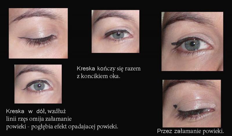 W Jaki Spsob Rysowac Kreske Eyelinerem Opadajaca Powieka Forum