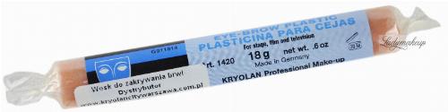 Kryolan - Plastik do zakrywania brwi