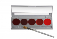 KRYOLAN - LIP ROUGE SET - Paleta 5 Pomadek do ust - ART. 1215 - D - D