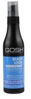 GOSH - BEACH LOOK For all hair types - Mieszanka soli i wody morskiej w spray'u - MOCNE UTRWALENIE