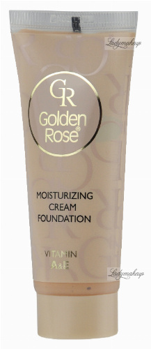 Golden Rose - Moisturizing Cream Foundation - Podkład w kremie