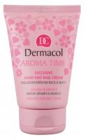Dermacol - Aroma Time - Ekskluzywny krem do rąk i paznokci - 4366A