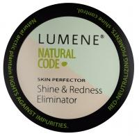 Lumene - Natural Code - Eliminator zaczerwienień i połysku