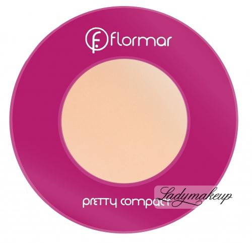 Flormar - Pretty compact - Puder prasowany