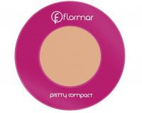 Flormar - Pretty compact - Puder prasowany - 195 - 195