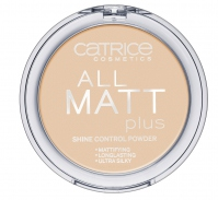 Catrice - PUDER - All matt plus shine control powder - Puder neutralizujący świecenie skóry