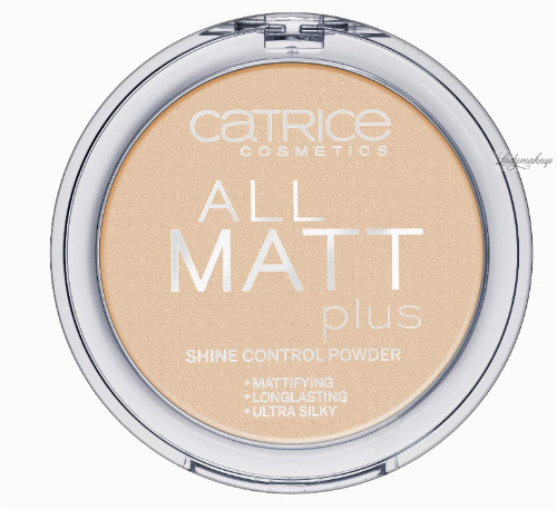 Catrice - POWDER - All matt plus shine control powder