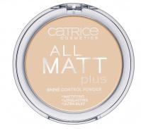 Catrice - All matt plus shine control powder - Puder neutralizujący świecenie skóry-030 - WARM BEIGE - 030 - WARM BEIGE
