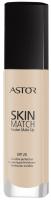 ASTOR - Skin Match Fusion Make Up - Podkład dopasowujący się do cery