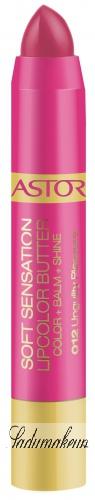 ASTOR - Soft Sensation Lipcolor Butter - Nawilżająca szminka w kredce