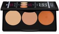 GOSH - BB Skin Perfecting Kit - Paleta BB korektor/ rozświetlacz