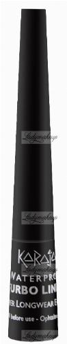 Karaja - Turbo liner Waterproof - Wodoodporny eyeliner