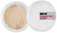 MIYO - Transparent finish! - Transparentny puder sypki
