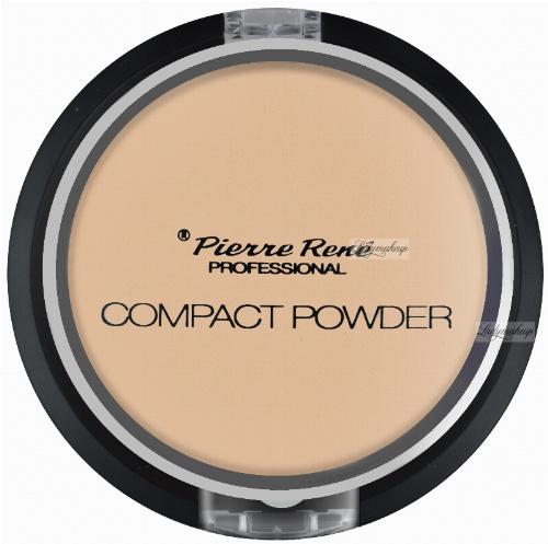 Pierre René - Compact Powder - Puder matujący z jojobą i minerałami