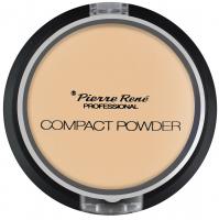 Pierre René - Compact Powder - Puder matujący z jojobą i minerałami - 03 - TRANSPARENT - 03 - TRANSPARENT