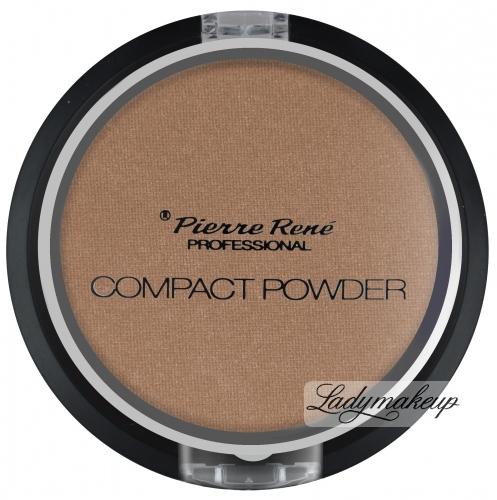 Pierre René - Compact Powder - Puder brązujący z jojobą i minerałami - No. 13